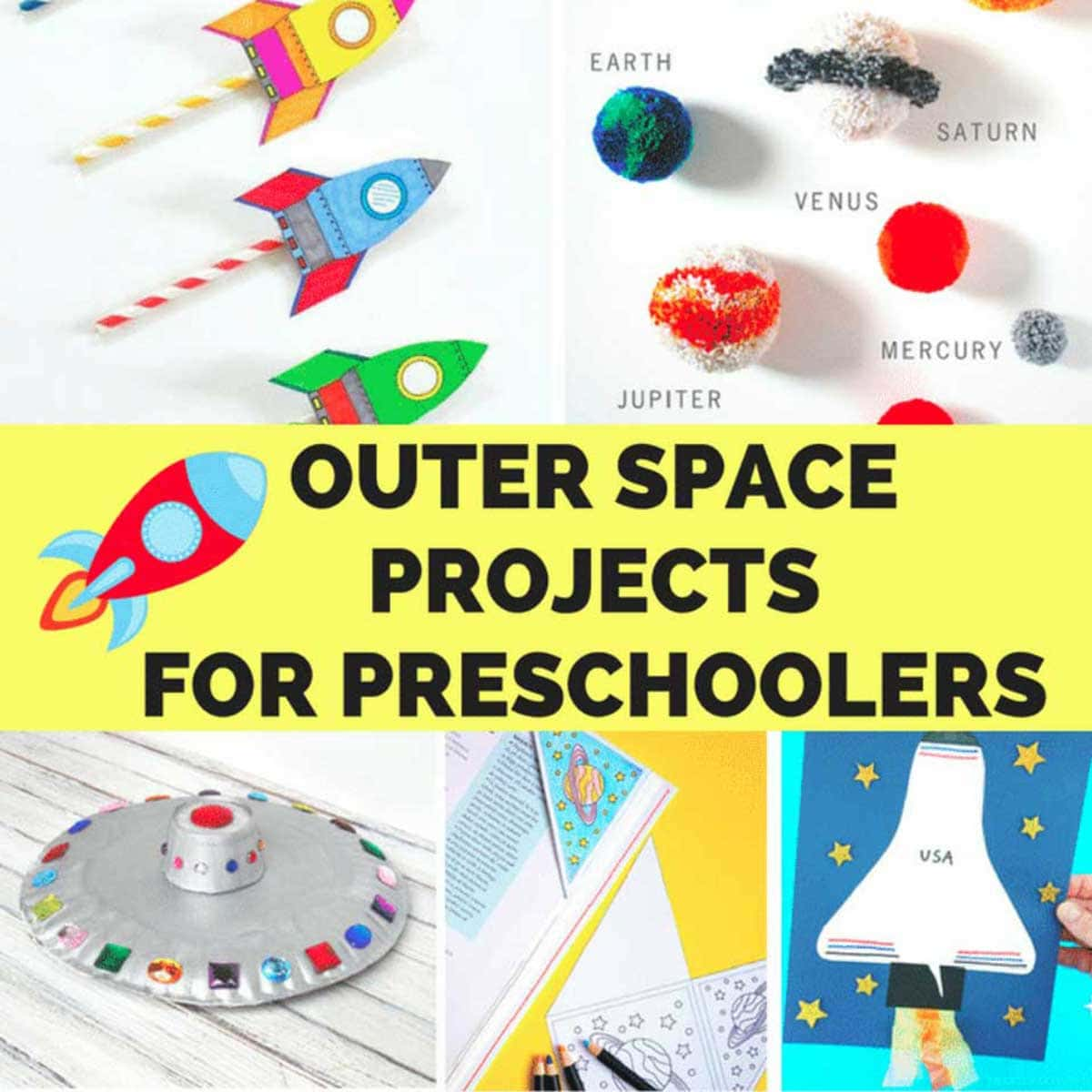 Outer Space Crafts For Preschoolers