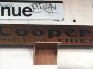 COOPER TIRE SIGN