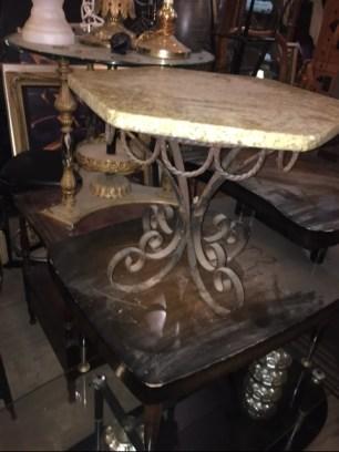 marble-metal-table