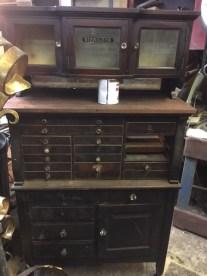 antique-wood-medical-cabinet