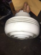 ART DECO LAMP COVER