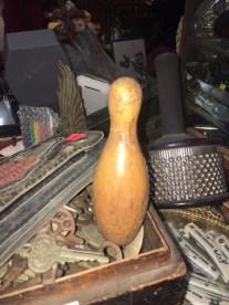 WOOD BOWLING PIN