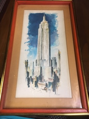 LISTED WATERCOLOR