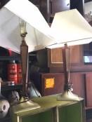 MID CENTURY LAMP PAIR