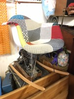 MID CENTURY STYLE ROCKING CHAIR
