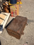 ANTIQUE METAL CHEST