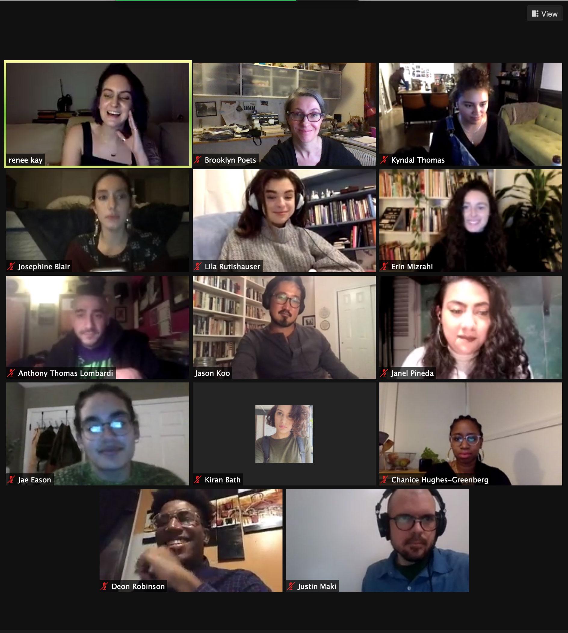 Brooklyn Poets Staff Picks Reading