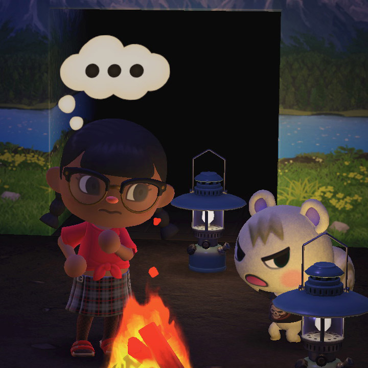 Image of Fireside Brats from Animal Crossing