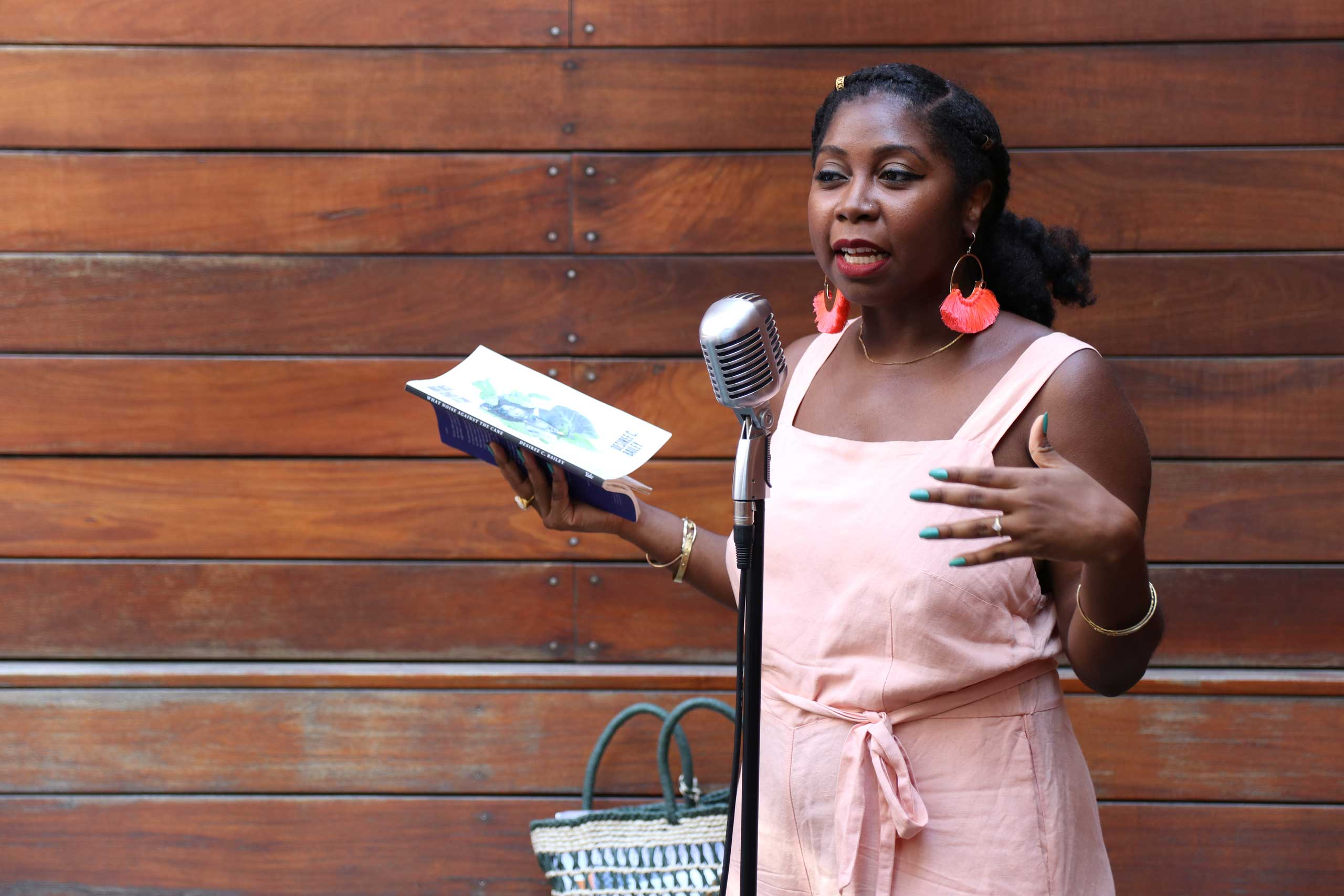 Desiree C. Bailey at the Brooklyn Poets Reading Series 7.18.21