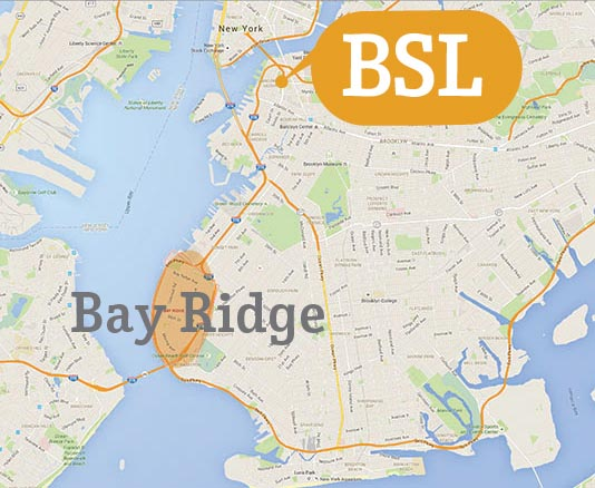 Accommodation Map Bay Ridge