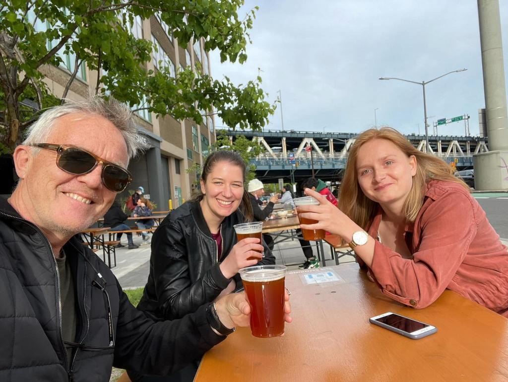 Happy Hour at Randolph Brewpub, Dumbo