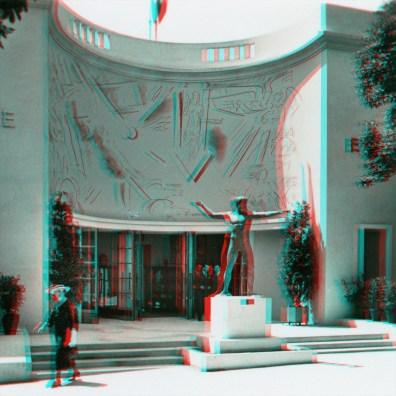 Greek Pavilion, cast of a Zeus statue discovered a few months ago