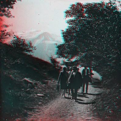 """Box01S09 - """"En route pour le Lac vert pres Chamonix 1928"""""""
