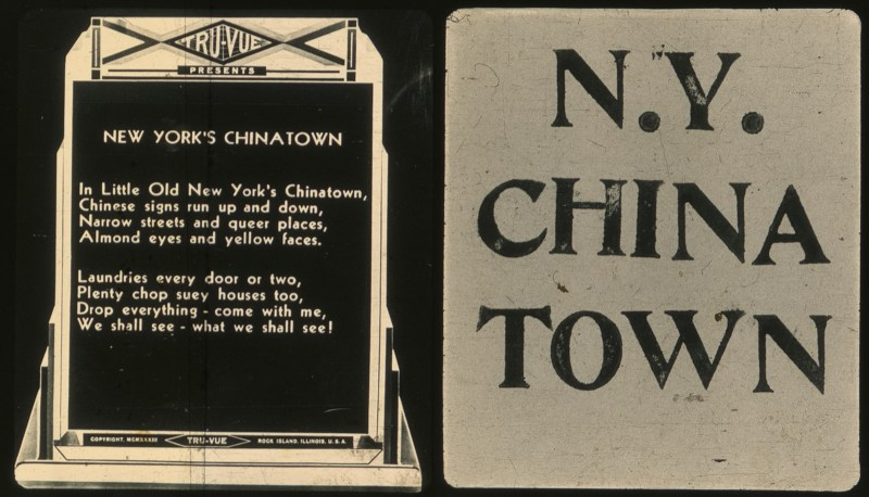 NYC Chinatown in 1934: Stereoscopic 3D Photos plus Racism | Brooklyn