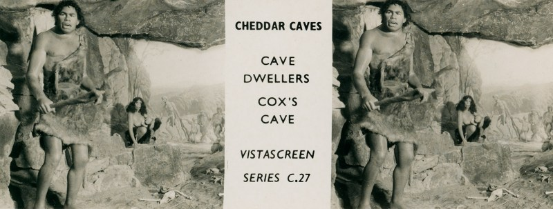 An image from the Cheddar Caves set, C.27 on the VistaScreen Series List.