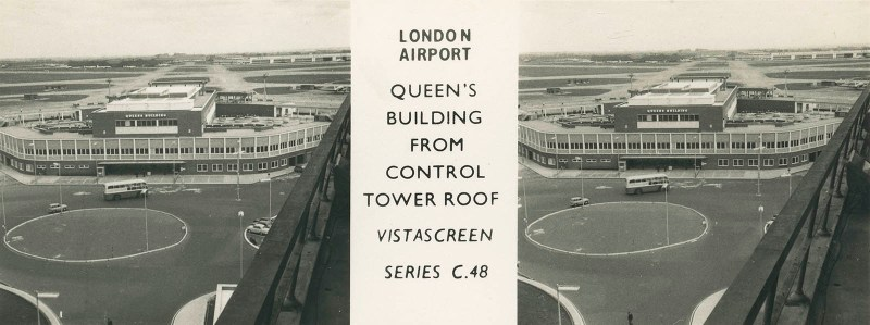 Heathrow Queens Building from Control Tower Roof
