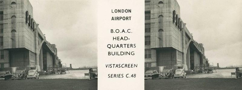 Heathrow - B.O.A.C. Headquarters Building