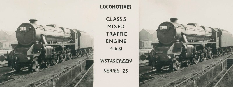 "VistaScreen Series 25 ""Locomotives"" - ""Class 5 Mixed Traffic Engine 4-6-0"""