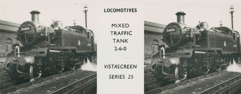 "VistaScreen Series 25 ""Locomotives"" - ""Mixed Traffic Tank 2-6-0"""