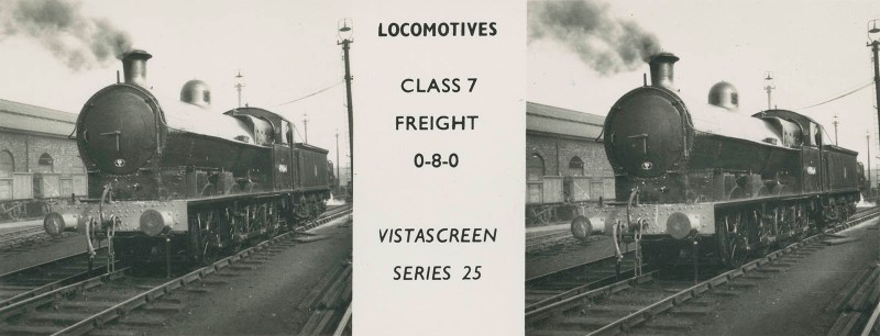 "VistaScreen Series 25 ""Locomotives"" - ""Class 7 Freight 0-8-0"""