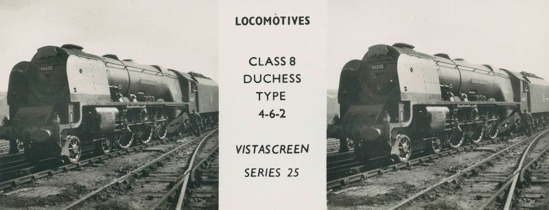 "VistaScreen Series 25 ""Locomotives"" - ""Class 8 Duchess Type 4-6-2"""