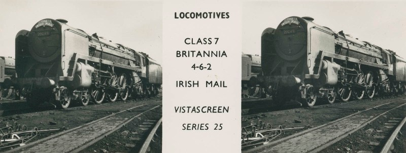 "VistaScreen Series 25 ""Locomotives"" - ""Class 7 Britannia 4-6-2 Irish Mail"""