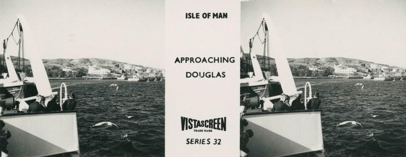 Vistascreen Series 32 The Isle of Man (Ellan Vannin) - Approaching Douglas