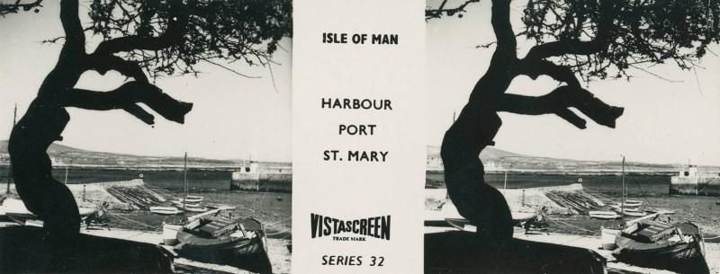 Vistascreen Series 32 The Isle of Man (Ellan Vannin) - Harbour Port St. Mary