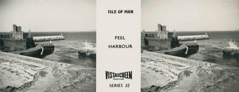Vistascreen Series 32 The Isle of Man (Ellan Vannin) - Peel Harbour
