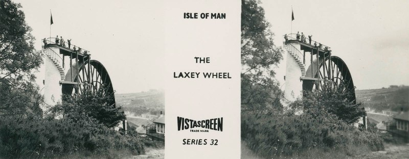 Vistascreen Series 32 The Isle of Man (Ellan Vannin) - The Laxey Wheel