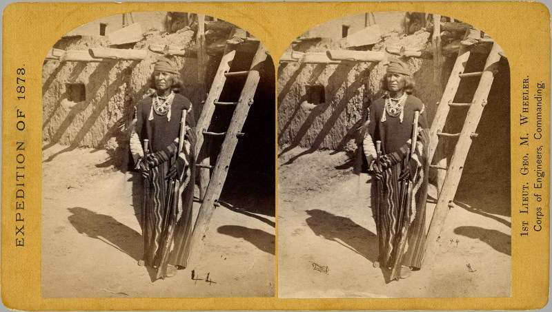 """Indigenous Peoples' Day Post - Index Number 44 """"War Chief of the Zuni Indians"""""""
