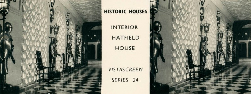 "Hatfield House, from VistaScreen Series 24 ""Historic Houses"""