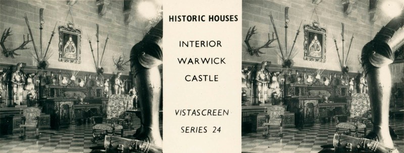 "Warwick Castle, from VistaScreen Series 24 ""Historic Houses"""