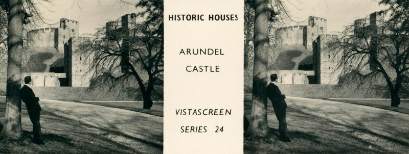 "Arundel Castle, from VistaScreen Series 24 ""Historic Houses"""