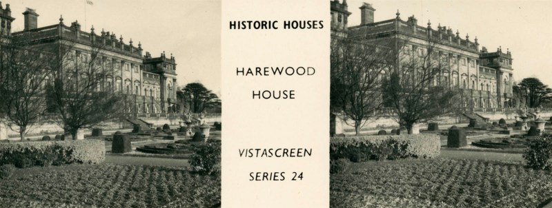 "Harewood House, from VistaScreen Series 24 ""Historic Houses"""