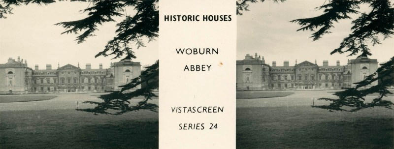 "Woburn Abbey, from VistaScreen Series 24 ""Historic Houses"""