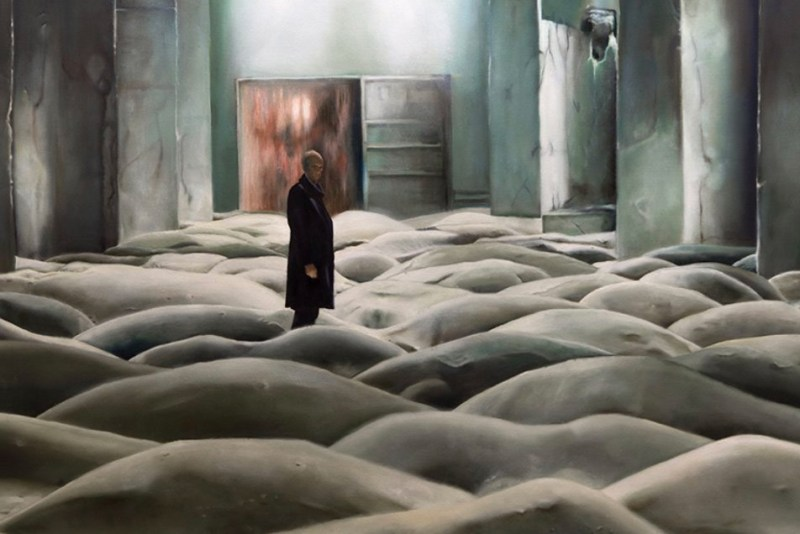 "Scene from Andrei Tarkovsky's ""Stalker""."
