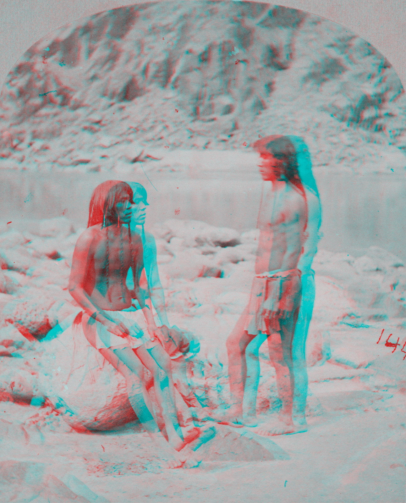Indigenous Peoples' Day Anaglyph 3