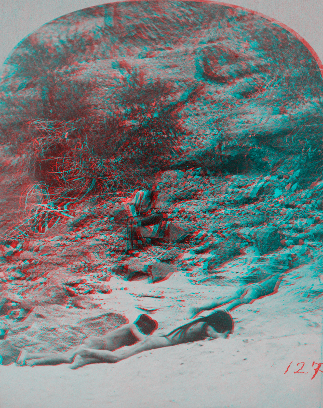 Indigenous Peoples' Day Anaglyph 5