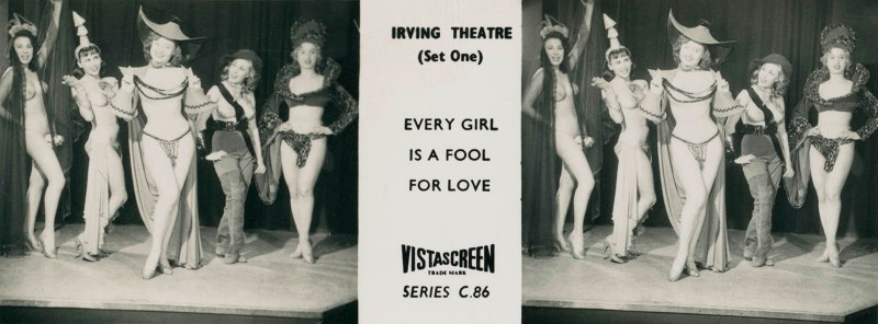 """VistaScreen Series C.86 """"The Irving Theatre (Set One)"""""""