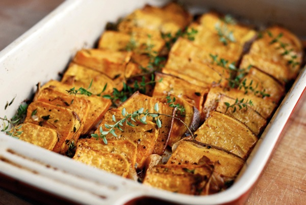 Domino roast sweet potatoes | Brooklyn Supper; © Brooklyn Supper 2012, all rights reserved