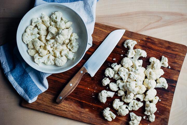 roasted cauliflower and garlic dip // brooklyn supper