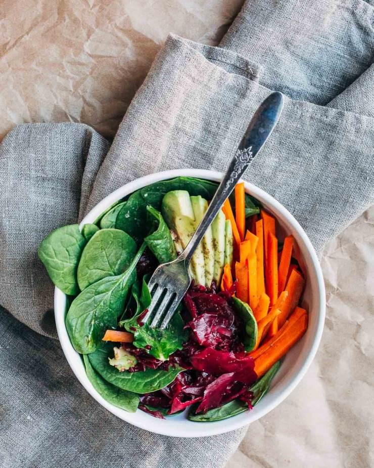 pink house kraut salad bowls // brooklyn supper