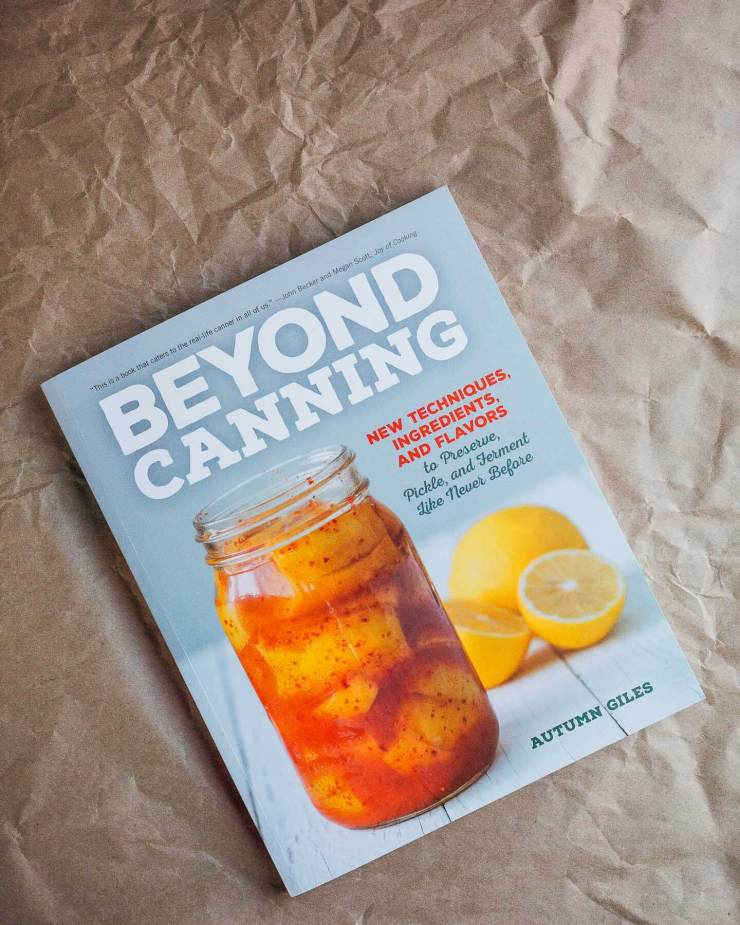 beyond canning by autumn giles
