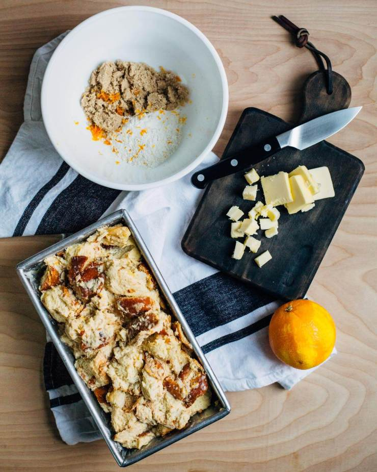 baked eggnog french toast + the gourmet kitchen   brooklyn ...