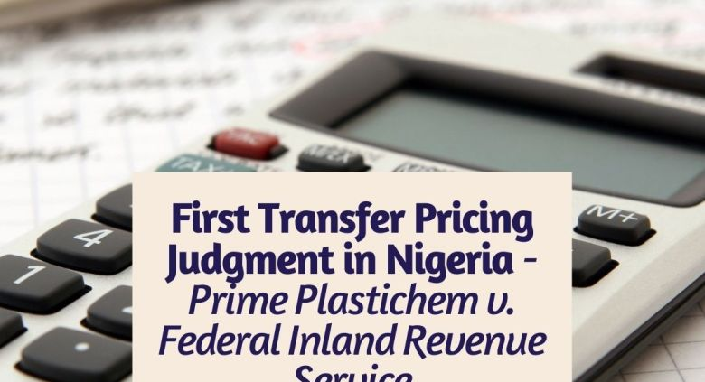 First Transfer Pricing Judgment in Nigeria