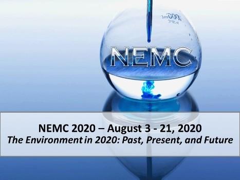 2020 National Environmental Monitoring Virtual Conference