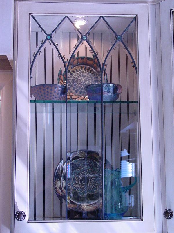 Beveled Cabinet Doors & Beveled Diamond Cabinet Door