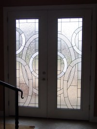Beveled Glass Front Doors, Leaded, Stained Glass, Entry ...