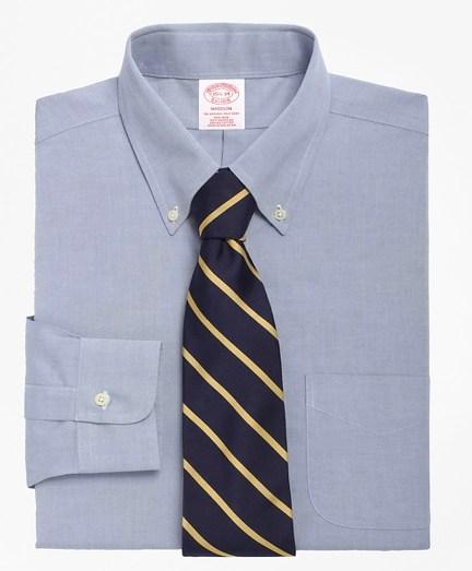 Brooks Brothers Sizing : brooks, brothers, sizing, Men's, Non-Iron, Regular, Button-Down, Collar, Dress, Shirt, Brooks, Brothers